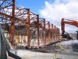 Industrial Fire, Kensington